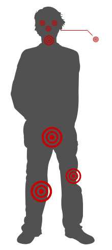 2d28d1bdae34 Chocked (cale) from behind  Use your heel to scratch the attacker s lower  leg